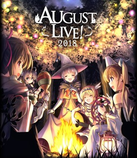 AUGUST LIVE! 2018 Blu-ray Disc&DLCard
